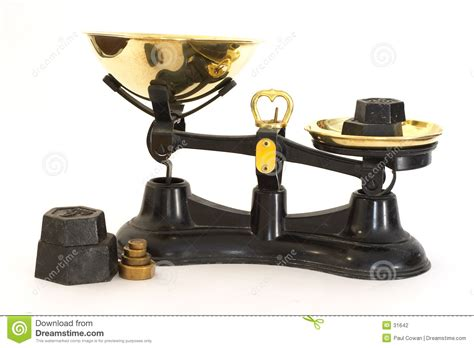 Fashioned Scales Kitchen Scales Stock Photography Image 31642