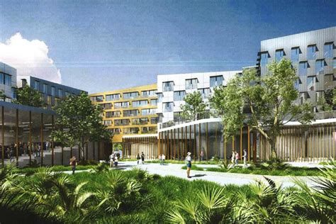 university of miami housing university of miami proposes massive 100m student housing project curbed miami