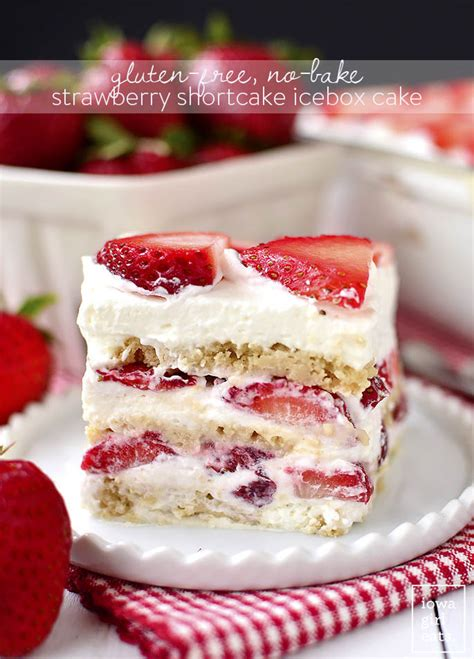 Prince Strawberry And Sweet Desserts 01 Freesul gluten free no bake strawberry shortcake icebox cake digestive healthcare center