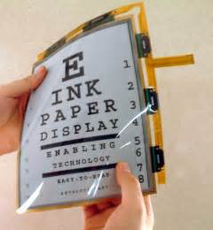 color e ink display e ink electronic ink foldable display