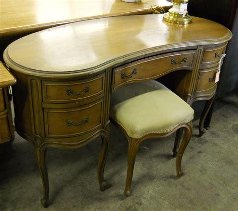 Provincial Vanity Stool by Used Furniture Gallery