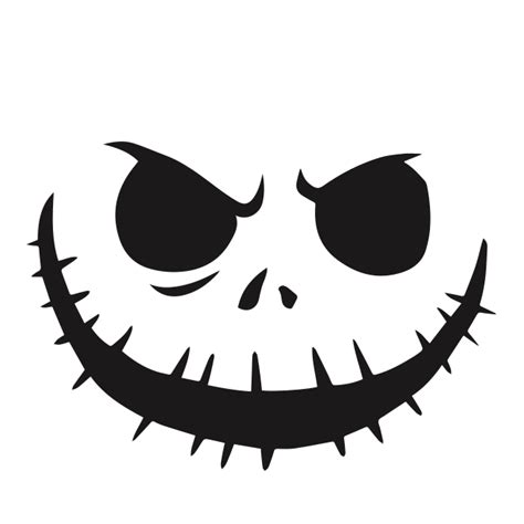 Get Scary Nerdy With These Geeky Jack O Lantern Stencils Nightmare Before Pumpkin Carving Template