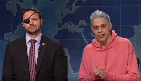 pete davidson youtube dan crenshaw dan crenshaw gets revenge on pete davidson as wounded