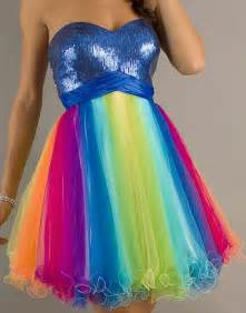 Sweetheart Table Size Rainbow Prom Dress Its Sooo Fluffy Pinterest God