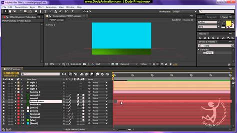 tutorial opening film dengan after effect tutorial pop up dengan after effect bahasa indonesia bag