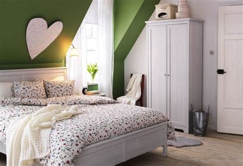 Green Bedroom Accent Wall Bedroom Green Accent Wall Home Rooms