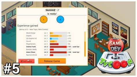 game dev tycoon gameplay pc hd youtube game dev tycoon 5 poor work ethic let s play