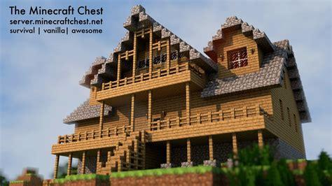 Cool Minecraft Cabins by The Minecraft Chest Minecraft Server
