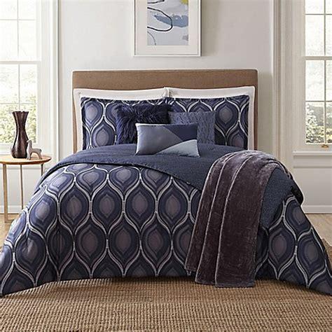 jennifer adams bedding jennifer adams home basti 7 piece comforter set in blue