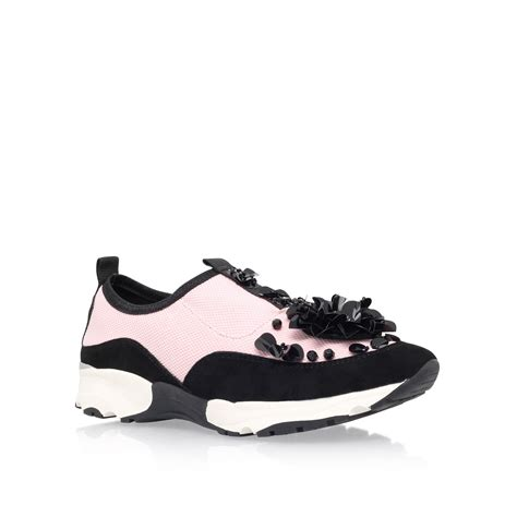 Flat Shoes Sneaker Pink Db2642 carvela kurt geiger lullaby flat lace up sneakers in black
