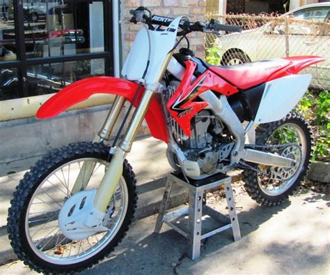 motocross bikes road 2008 honda crf250r used motocross road motorcycle