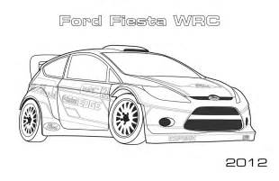 Page Ford Ford Wrc Coloring Page Car Coloring Pages