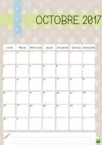 Calendrier Octobre Et Novembre 2017 Calendrier Octobre 2017 224 Imprimer Calendriers