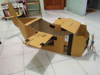cara membuat mainan anak tk dari barang bekas cara membuat pesawat mainan dari kertas kardus bekas