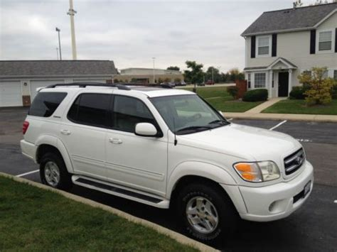 how things work cars 2001 toyota sequoia parking system sell used 2001 toyota sequoia 4wd limited fully loaded low miles 8 passenger nice in
