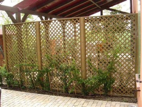 griglie per giardino griglie legno giardino grigliati e frangivento griglie
