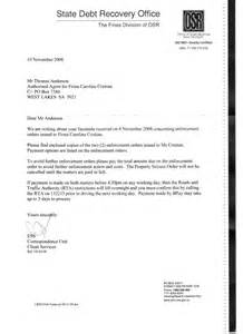 acceptance for value template fiona cristian reply to state debt recovery office 17th