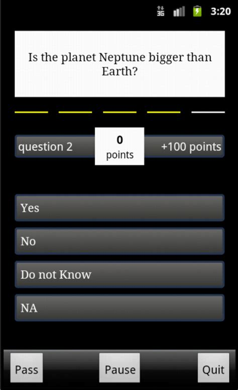 Android Quiz App by Buy Trivia Quiz App For Android Chupamobile