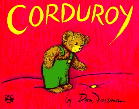 Corduroy Cover by Corduroy Book Review