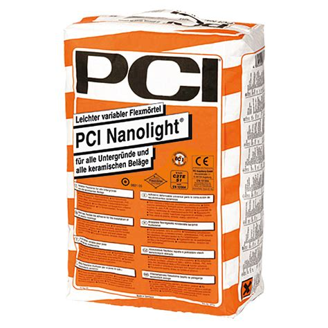fliesenkleber pci pci flexm 246 rtel nanolight 15 kg bauhaus
