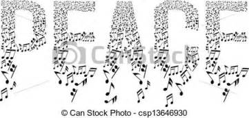 Free Small Home Plans by Vectors Of Peace Typography With Musical Notes Pattern