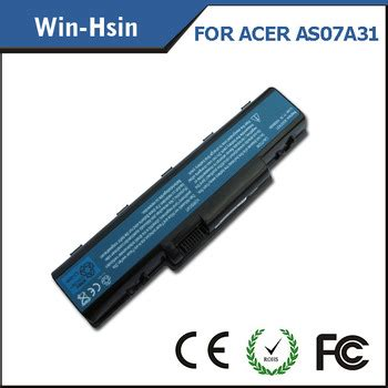 Acer As07a72 Li Ion Battery Replacement 4400mah 4720z notebook lithium ion battery price for acer as07a31 battery buy lithium ion battery price