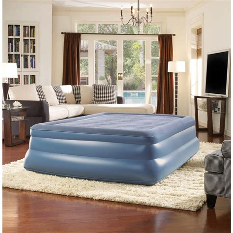 simmons beautyrest sky rise queen air mattress hddodqn