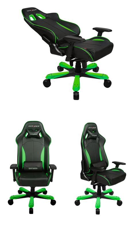 Dxracer Origin Series Ohoc168ne Black Green dxracer kf57 series pc office gaming chair black green zzzdxr kf57 gn pc gear