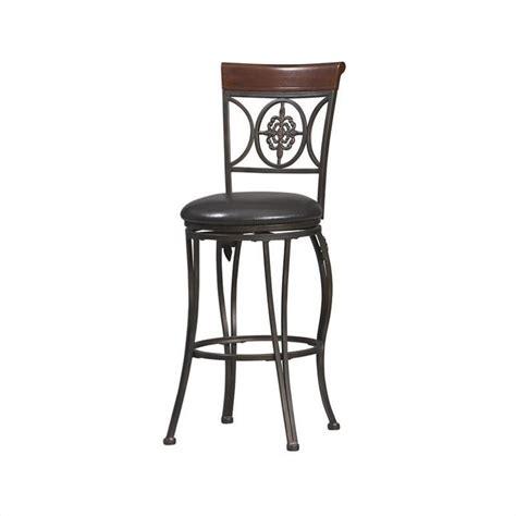 K D Furniture Bar Stools by Fleur De Lis 30 Inch Bar Stool In Antique Brown