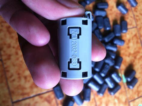 5 Pcs Cempaka Cimpago Putih baru tdk magnetferit ferrite untuk kabel busi mobil