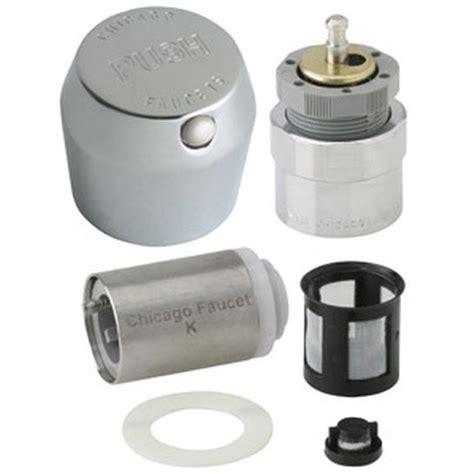 Chicago Push Faucet by Chicago Faucets Push Button Mvp Retrofit Kit 665 Rkpabcp