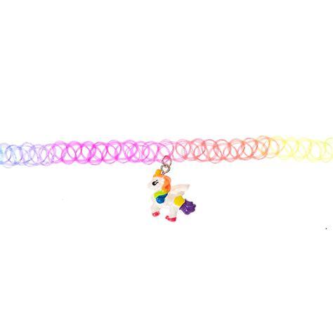 Rainbow Choker Choker rainbow unicorn choker s us