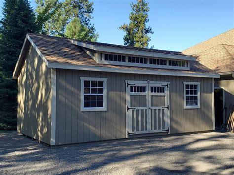 montana getaway style shed sturdy built sheds