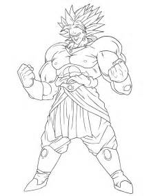 dragon balbroly colouring pages