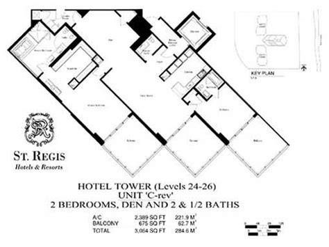 st regis bal harbour floor plans st regis pre construction for sale in bal harbour florida