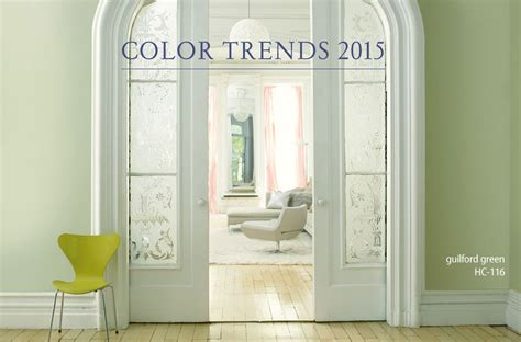 benjamin color trends 2015