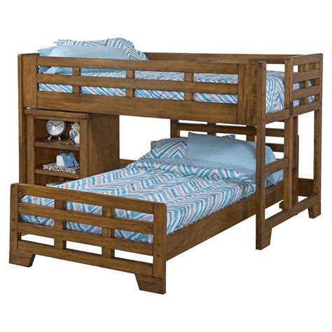 Low Loft Bed With Caster Bed Spice Brown Dcg Stores Loft Caster Bed