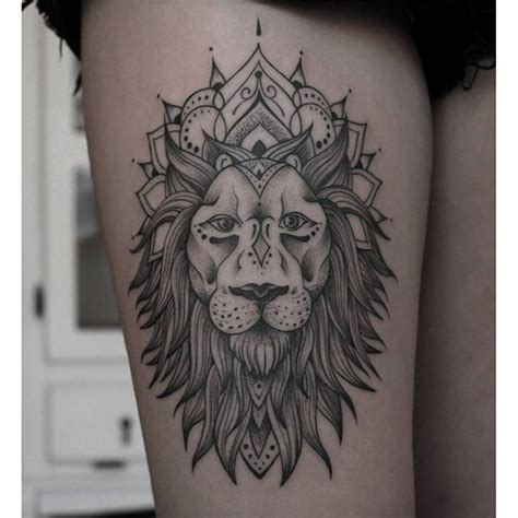 tattoo mandala instagram lion mandala ink on instagram tattoo s pinterest