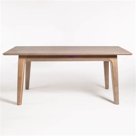 Maxwell Dining Table Maxwell 72 Dining Table Alder Tweed Furniture