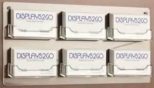 wall mounted business card display rack wall mounted business card display plastic literature holder