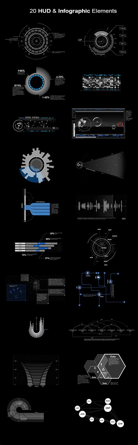 after effects template free phantom hud infographic hud infographic elements videohive free template free