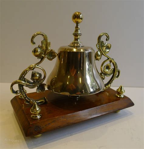 Desk Bell antiques atlas antique brass and oak desk