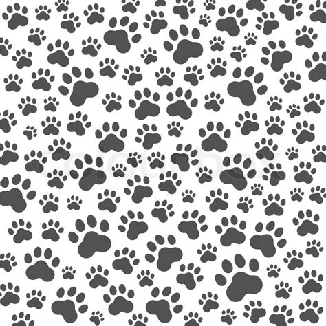 dog print wallpaper dog paw background