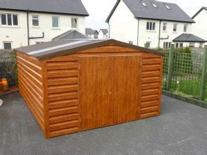 Insulated Shed For Sale by Wood Effect Steel Sheds For Sale In Ireland