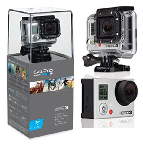 Gopro 3 Silver Bekas win a gopro hero3 silver edition hd camcorder
