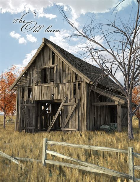alte scheune the barn 3d models and 3d software by daz 3d