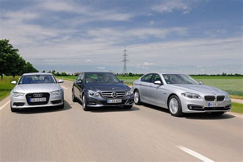 Audi Or Bmw Or Mercedes by Bmw 535d Vs Audi A6 Tdi And Mercedes E250 Bluetec