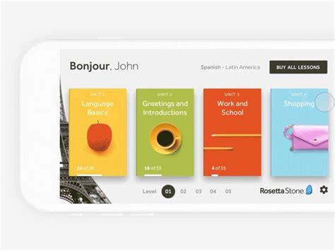 rosetta stone quora best 25 tablet ui ideas on pinterest ui design mobile