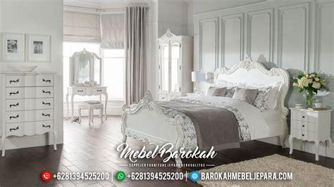 Ranjang Jepara Putih ranjang tempat tidur putih klasik modern mewah terbaru