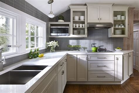 Rustic Birch Kitchen Cabinets - kitchen design ideas remodel projects amp photos